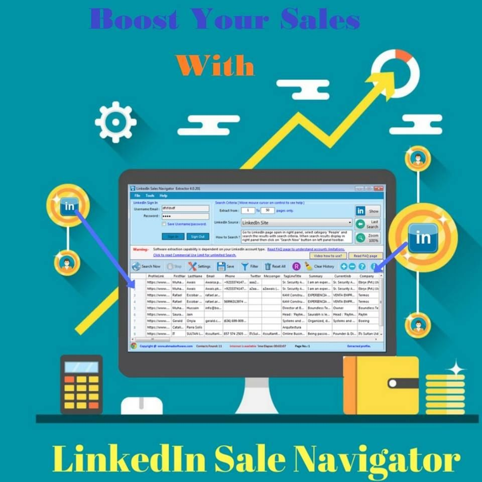 Combination of digital media and sports marketing revealed: LinkedIn Sale Navigator Extractor | Digital marketing ...
