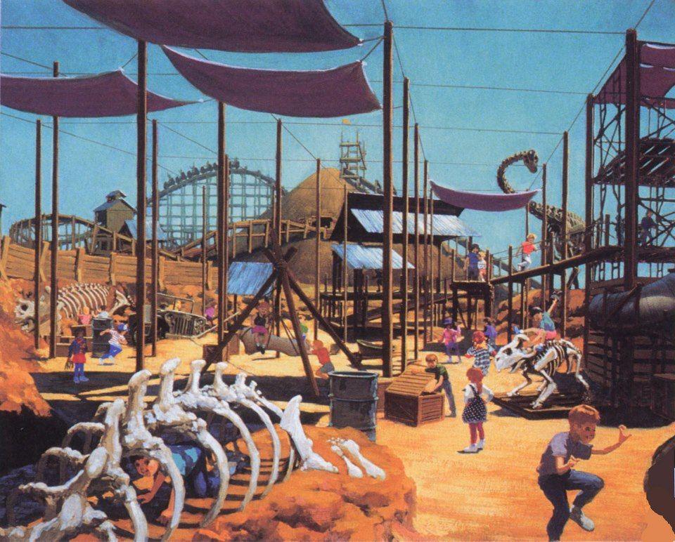 The Excavator, Disney's Animal Kingdom, Walt Disney World
