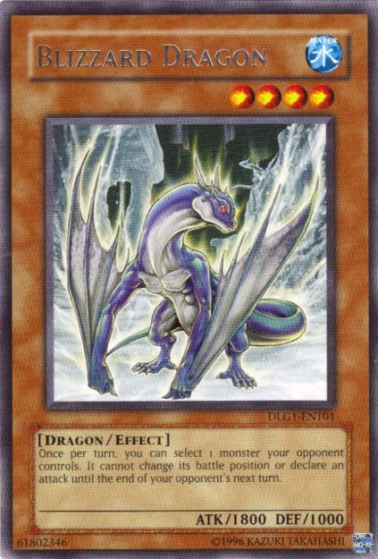 CardShark.com - (Blizzard Dragon) Yugioh Card for Sale ...
