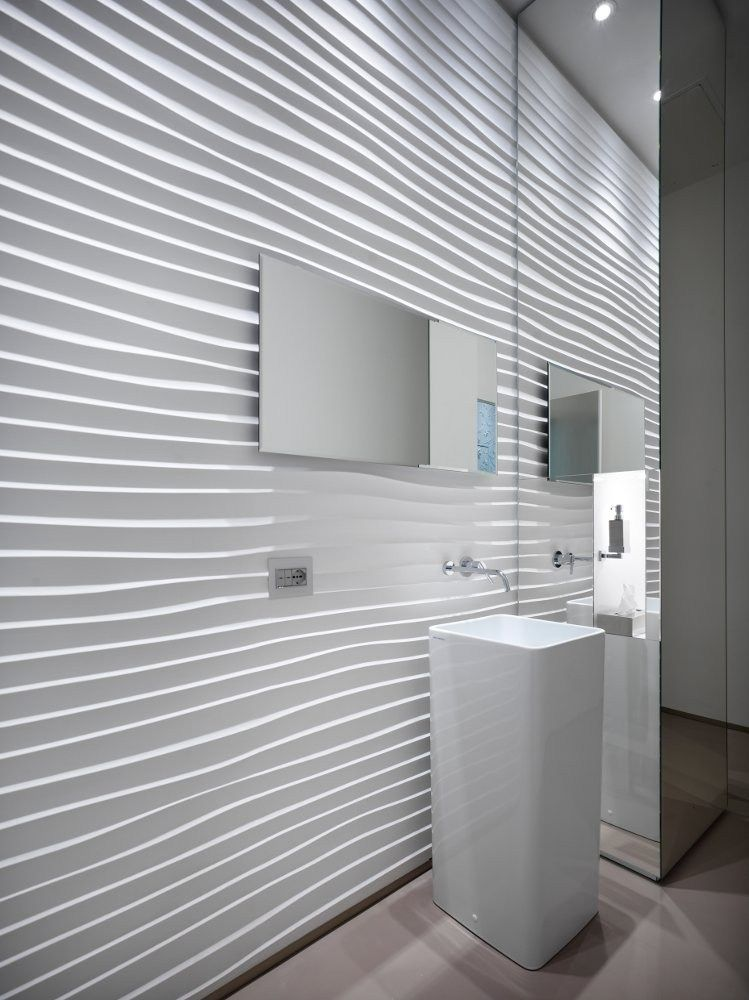 3d Wall Panel Deserto By 3d Surface Design Jacopo Cecchi Romano Zenoni Bathroom Wall Panels 3d Wall Panels Textured Wall Panels