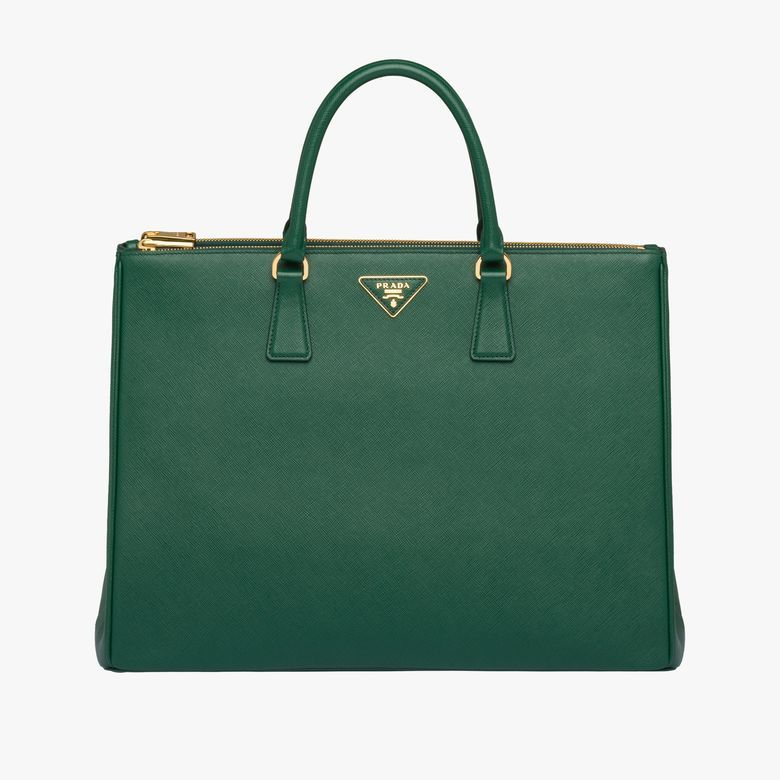 5d0bf3755ed85e Galleria Saffiano leather bag in 2019   fashion   Bags, Prada, Large ...