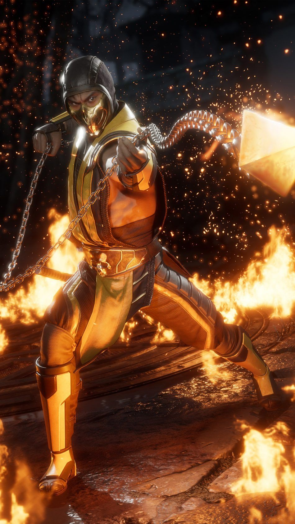 Scorpion Mortal Kombat 11 Scorpion mortal kombat, Kitana
