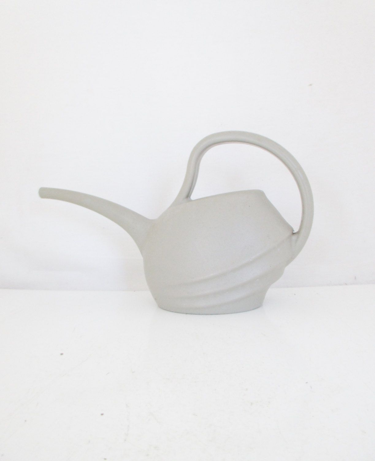 watering can mid century watering can vintage plastic watering can