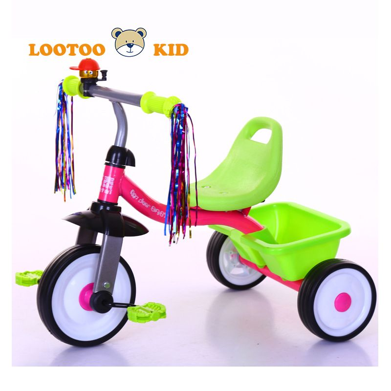 China Factory Cheap Price Kindergarten Tricycle Baby Easy