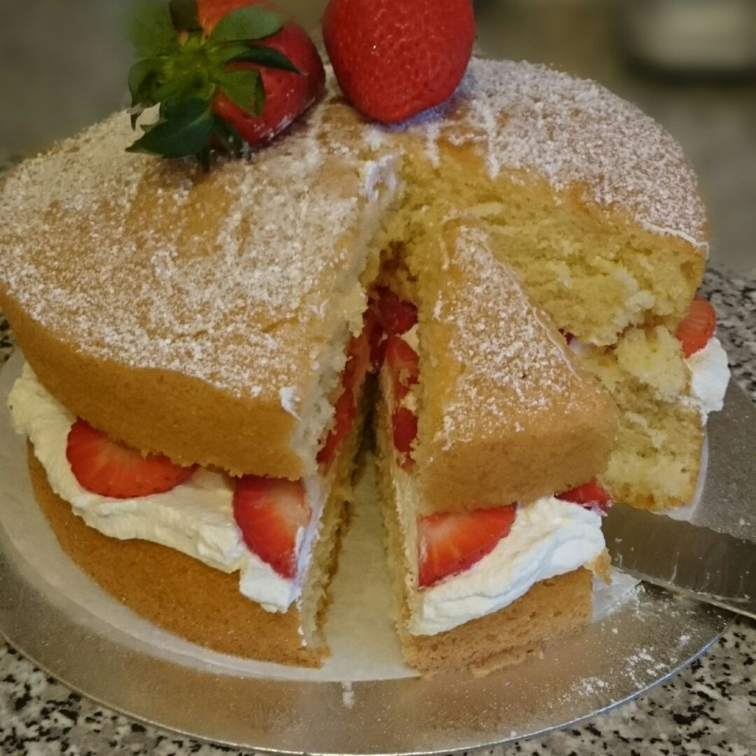 Victoria sandwich cake victoria sponge cake recipe recipes good food victoria sandwich cake victoria sponge cake recipe recipes good food channel life got in the way forumfinder Image collections