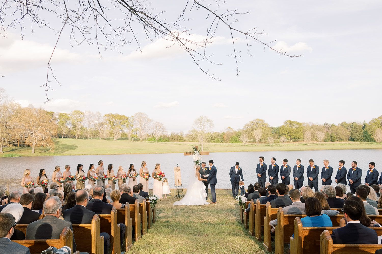 Wedding Ceremony | Dallas Cowboy Cheerleader Clemson Rally ...