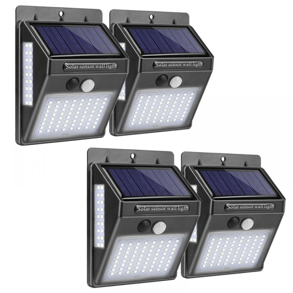Lámpara Solar Led Para Exteriores Con Sensor De Movimiento Luz De Pared Impermeable Con Energía Solar Para Deco Solar Wall Lights Outdoor Wall Lamps Solar Lamp