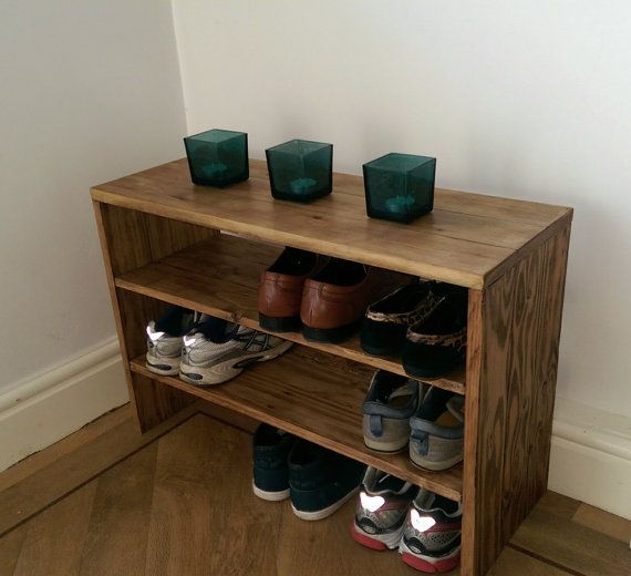 Hey, I found this really awesome Etsy listing at https://www.etsy.com/listing/198048891/pallet-wood-shoe-rack-with-wax-finish