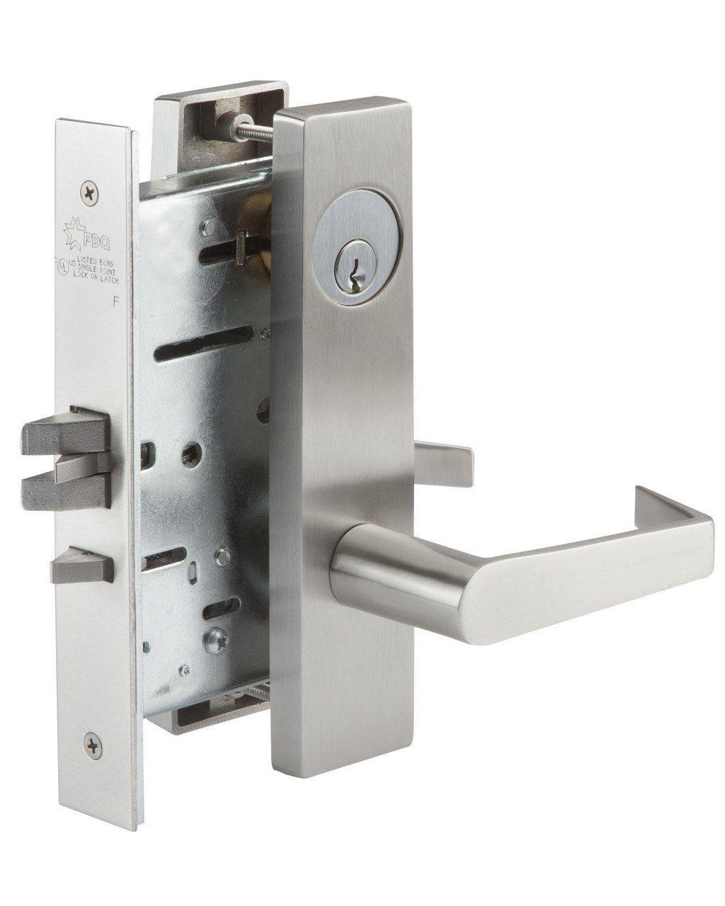 Pdq Mr116ej Mortise Lock Single Cylinder Entry Function Lock Mortise Lock Commercial Door Hardware Door Hardware Accessories