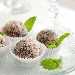 No-bake cocoa cookie balls #foodgawker