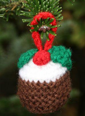 Knitting Patterns Christmas Puddings Christmas Pudding Knit