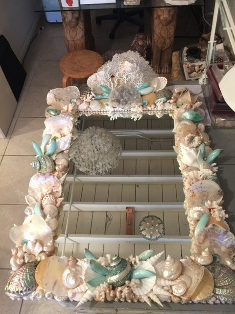 Mirrors - Christa's South Seashells #mermaidbathroomdecor