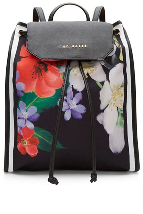 9568a1b8c6b 10 bags you'll need for summer music festivals: Ted Baker floral backpack