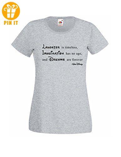 Geschäft auf Füßen Bilder von Rabatt Damen T-Shirt mit Walt Disney Spruch