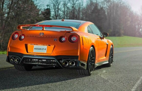 2017 Nissan GT-R official rear end