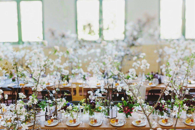 Rustic Wedding reception | fabmood.com #wedding #rusticwedding #factorywedding