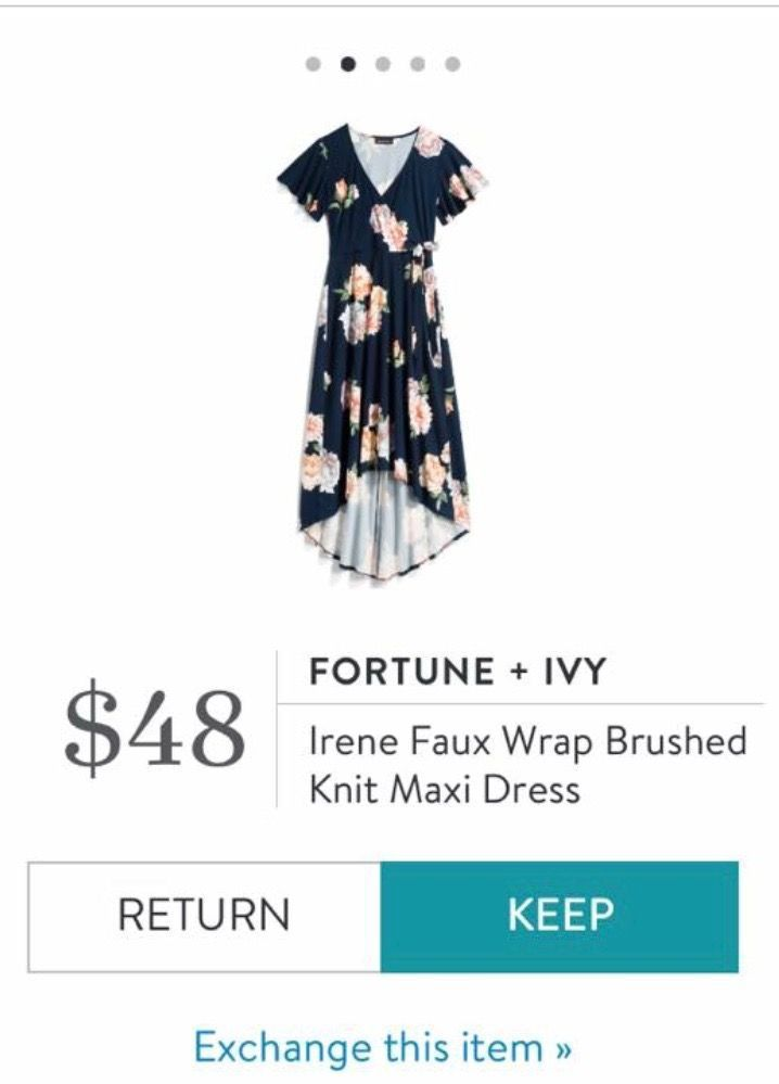 Stitch fix: love the pattern and cut of this dress, perfect for hot summer days! #stitchfix