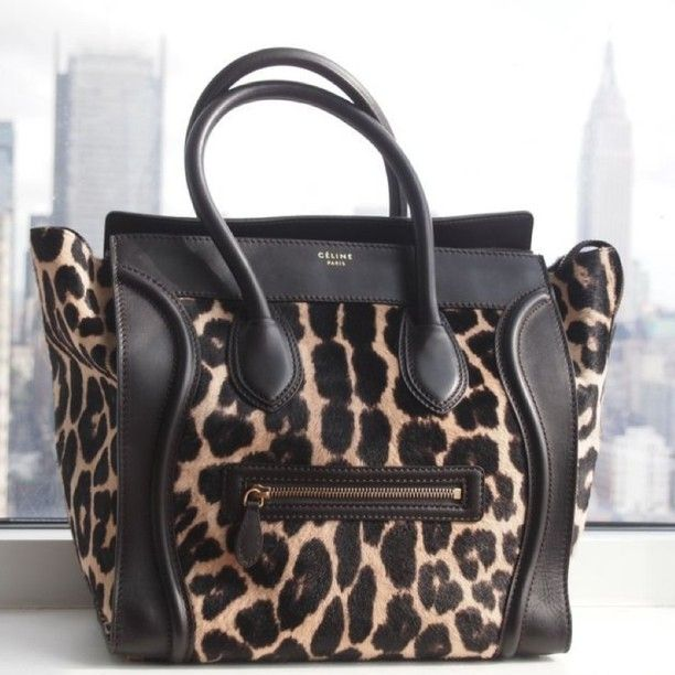 Drooling Over This Leopard Celine Bag Such A Dreamy Little Number