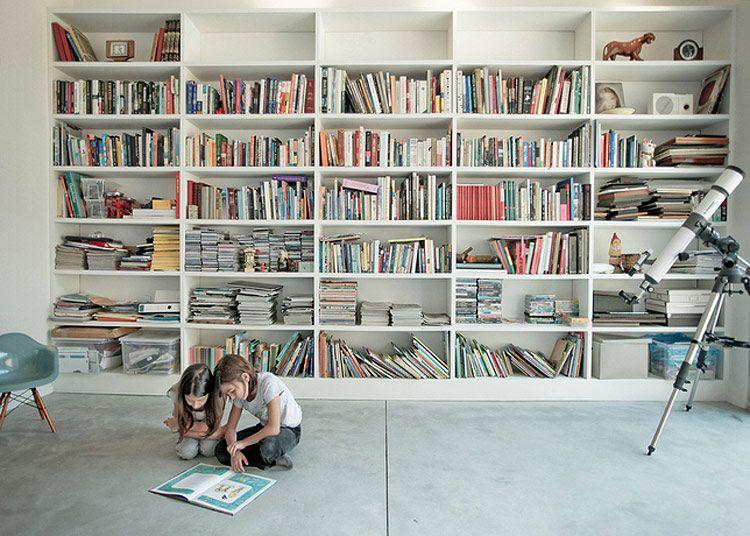 blog-bookcase-inspiration-white-wall-unit | bookcases & shelves