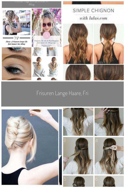 Frisuren Lange Haare Frisuren Mittellanges Haar Frisuren Anleitung Einfach Frisuren Anleitung Frisuren Alltag Frisuren Zum Nachmac In 2020 Hair Styles Hair Beauty
