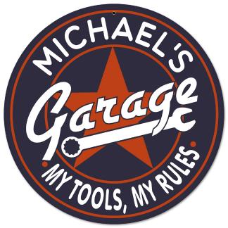 Garage Decor Signs Alluring Garage Gifts Garage Decor Personalized Garage Signs  Man Cave Decorating Inspiration