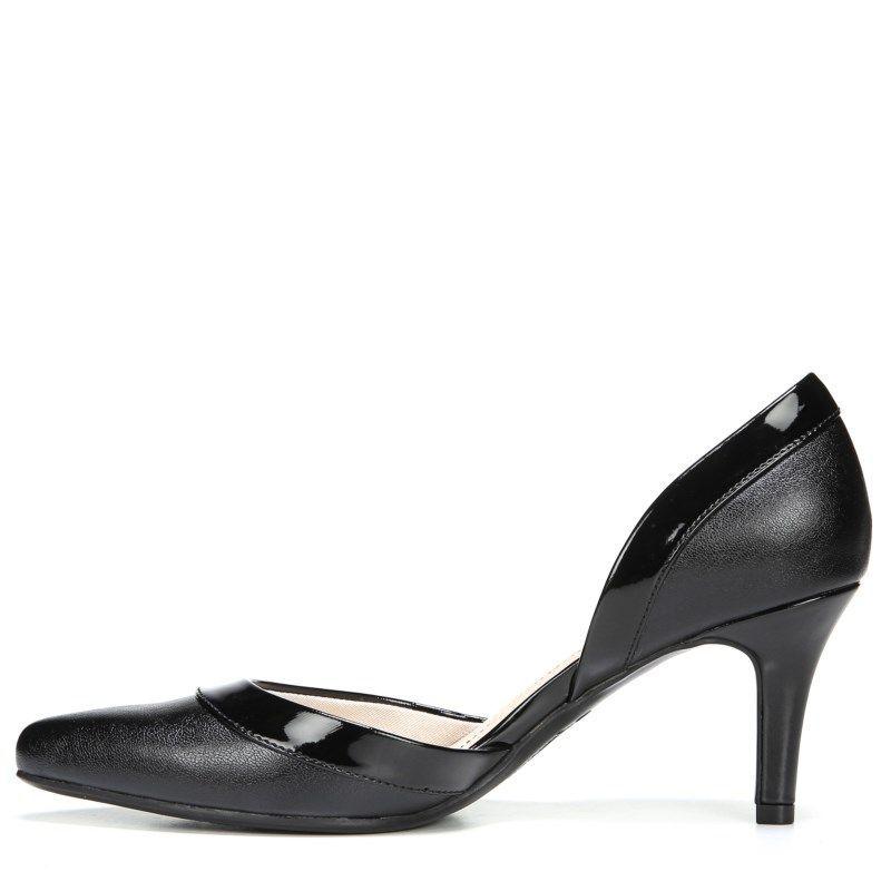 85a6bca124d Lifestride Women s Saldana Medium Wide D orsay Pump Shoes (Black)