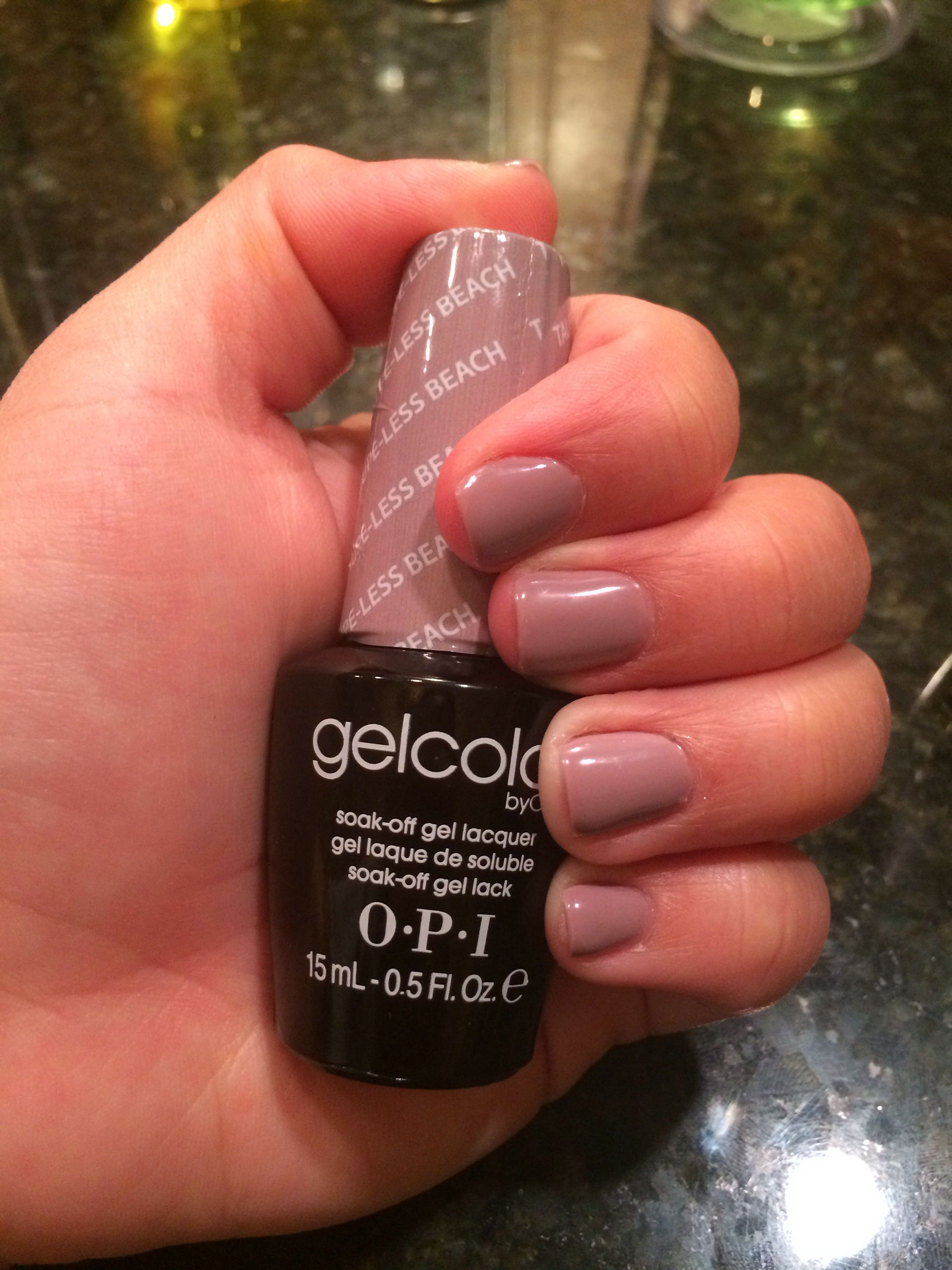 opi gelcolor taupe- beach