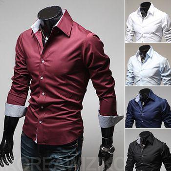 Camisa Masculina Colarinho Várias Cores R$ 21,84   Link para comprar: http://lnk.do/JFQvQ