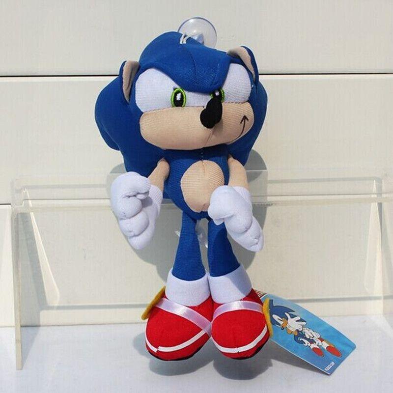 Sonic the Hedgehog Plush Doll 20cm Blue knuckles Stuffed Plush Dolls Kid Toys Free Shipping #Affiliate