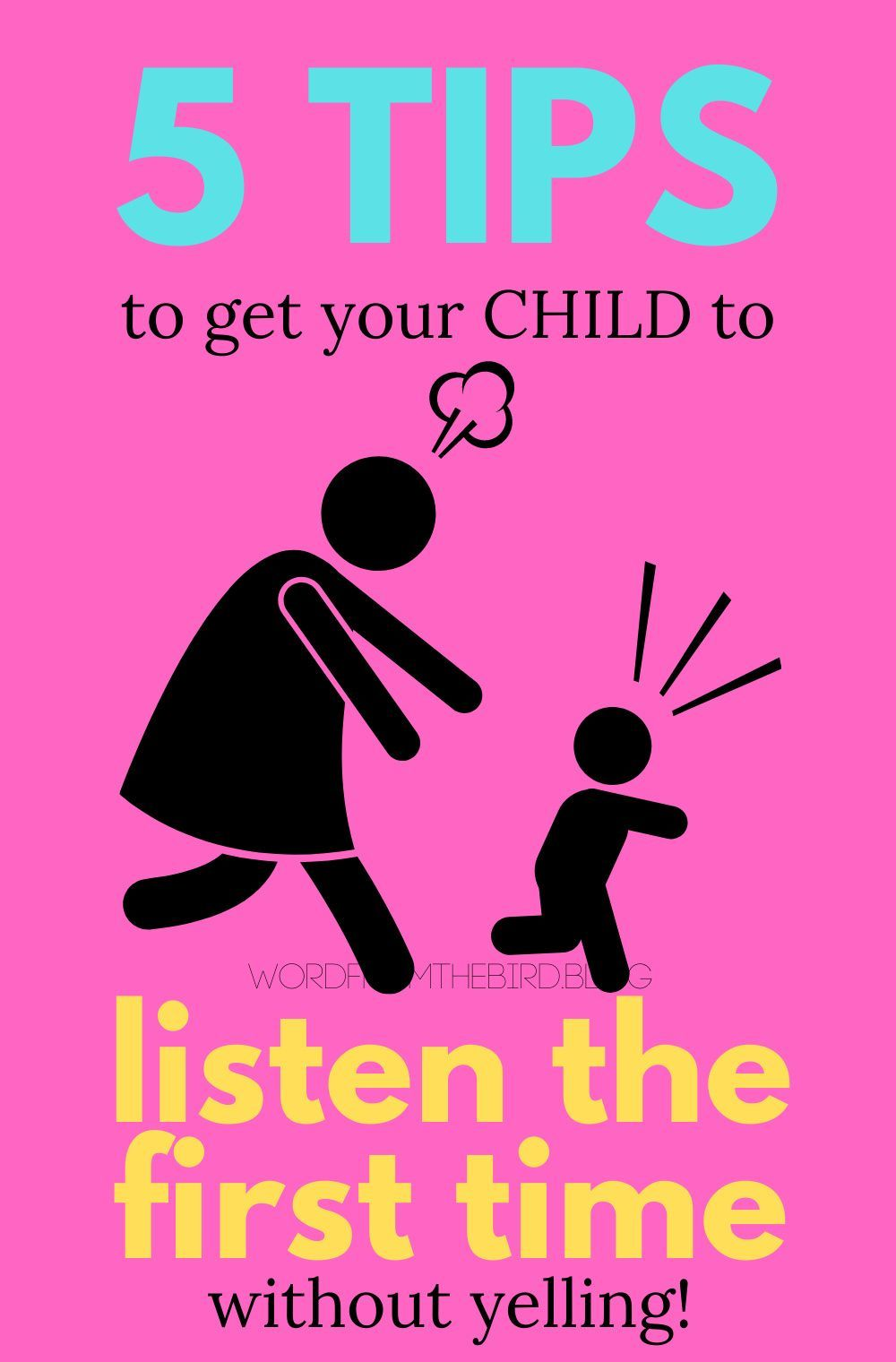 How to get your kids to listen by doing these 5 things in