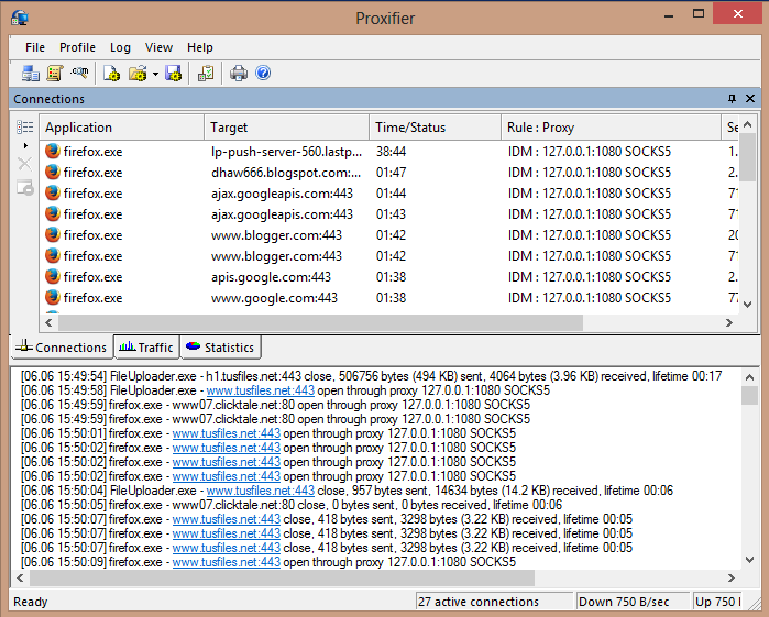 Download Proxifier 3.21 Full Serial + Portable