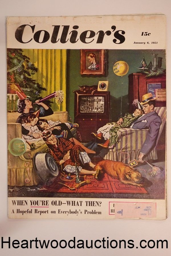 "Collier's Jan 6, 1951 W.R. ""Racket Alley"