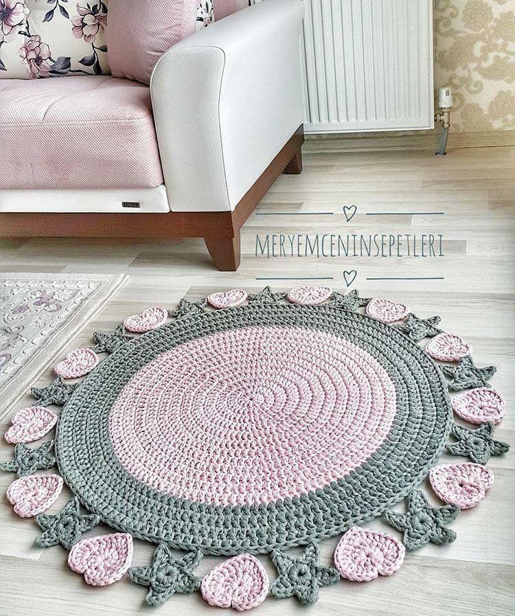 Pin de Lindajo Martinez en Crochet rugs | Pinterest | Trapillo ...