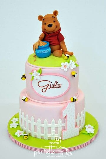 Winnie The Pooh Cake Birthday Designs For Girl Novelty