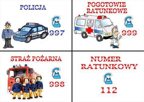 telefony alarmowe dla dzieci - Szukaj w Google | Polish language, Learn  polish, Education