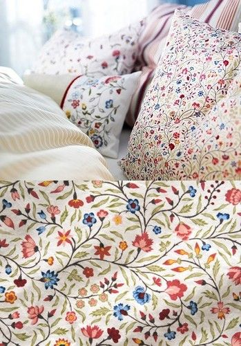 ALVINE LJUV duvet cover by IKEA  the Colours are not as intense as shown. Details about Ikea Alvine Ljuv Duvet Quilt Cover Full Queen Double
