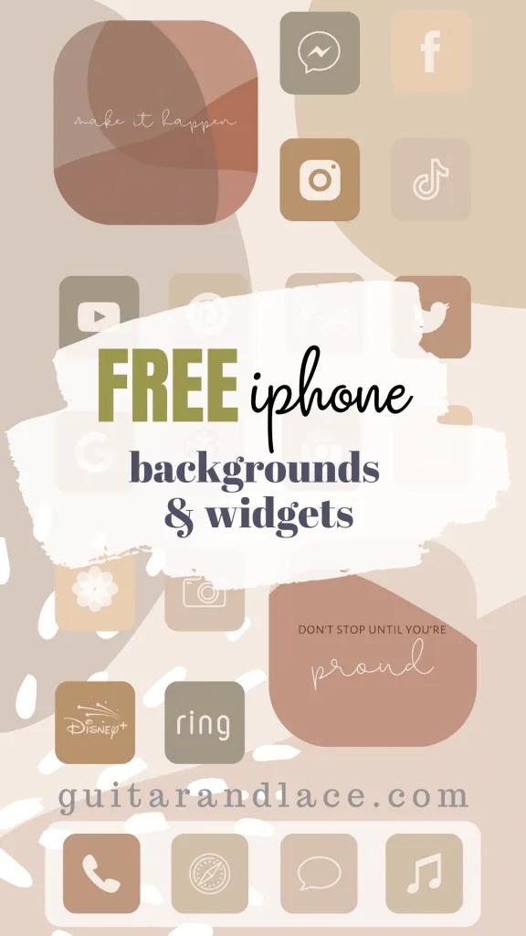 Free Aesthetic Iphone Backgrounds Widgets App Background Iphone Design Iphone Background