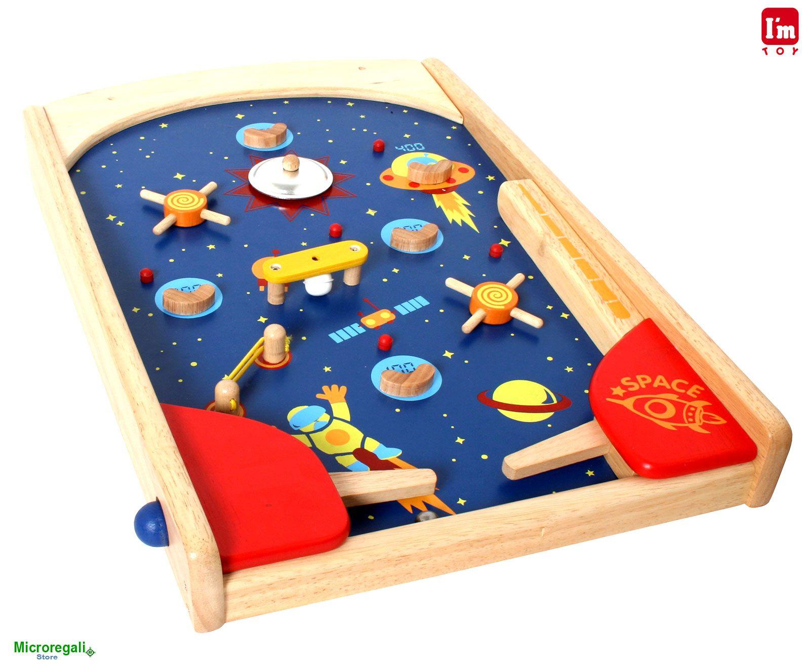 Tavoli Da Gioco Per Bambini : Flipper spaziale da tavolo in legno cm gioco per bambini
