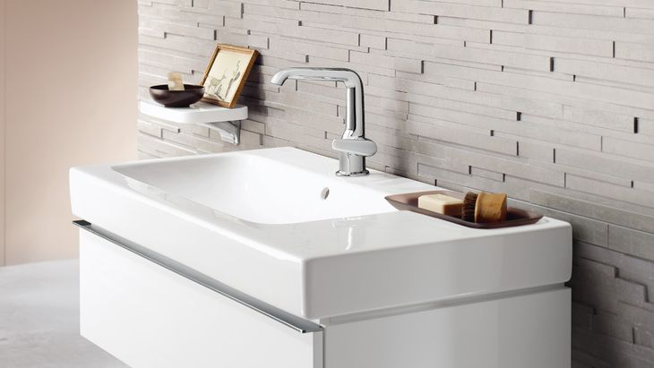 Wash basin scene with Axor Bouroullec. ??whb/furniture on hansgrohe ...