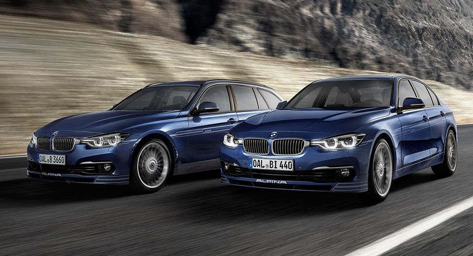 Alpina's Latest B3/B4 S Bi-Turbo Outguns BMW M3/M4 With 434 HP