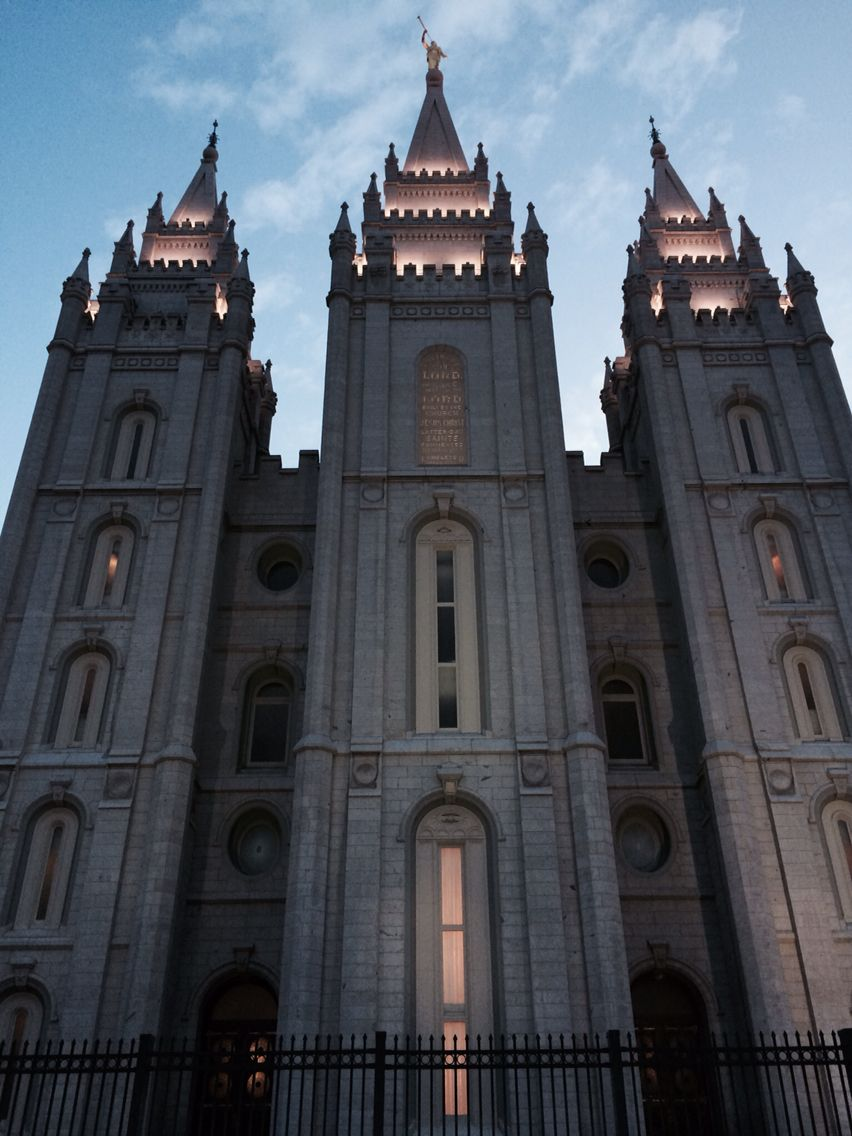 Salt Lake a Temple - front