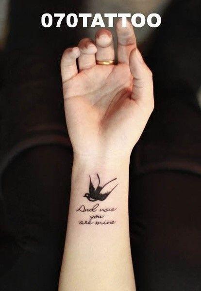 Bird Tattoo Bird Tattoo Bird Tattoo Loyalty Tattoo Girly Tattoos Unique Wrist Tattoos