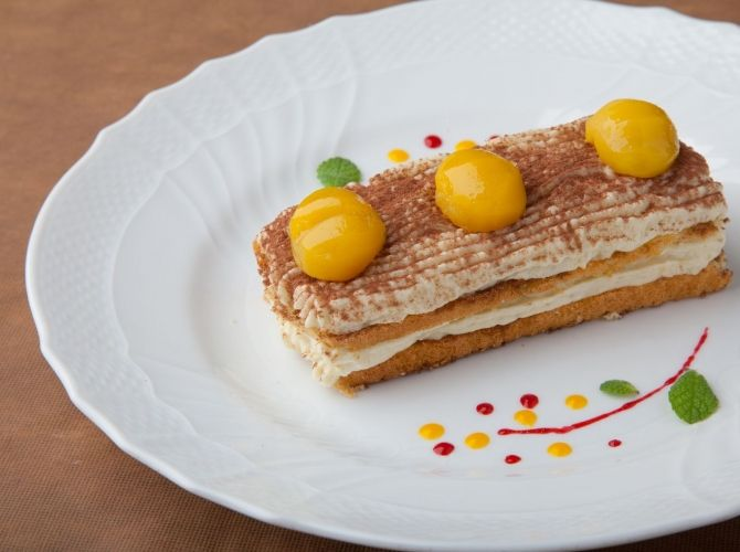 栗きんとんティラミス - 志村 和弘シェフのレシピ   プロから学ぶ簡単家庭料理 シェフごはん