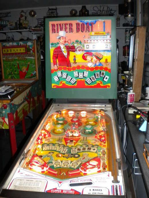 Riverboat pinball rubber ring kit 1964 Williams River Boat