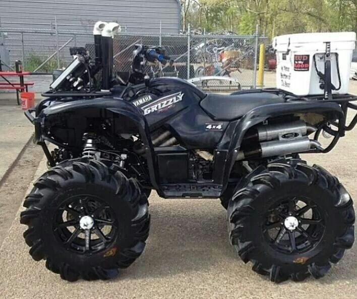 yamaha grizzly came to play where 39 s the mud hole. Black Bedroom Furniture Sets. Home Design Ideas