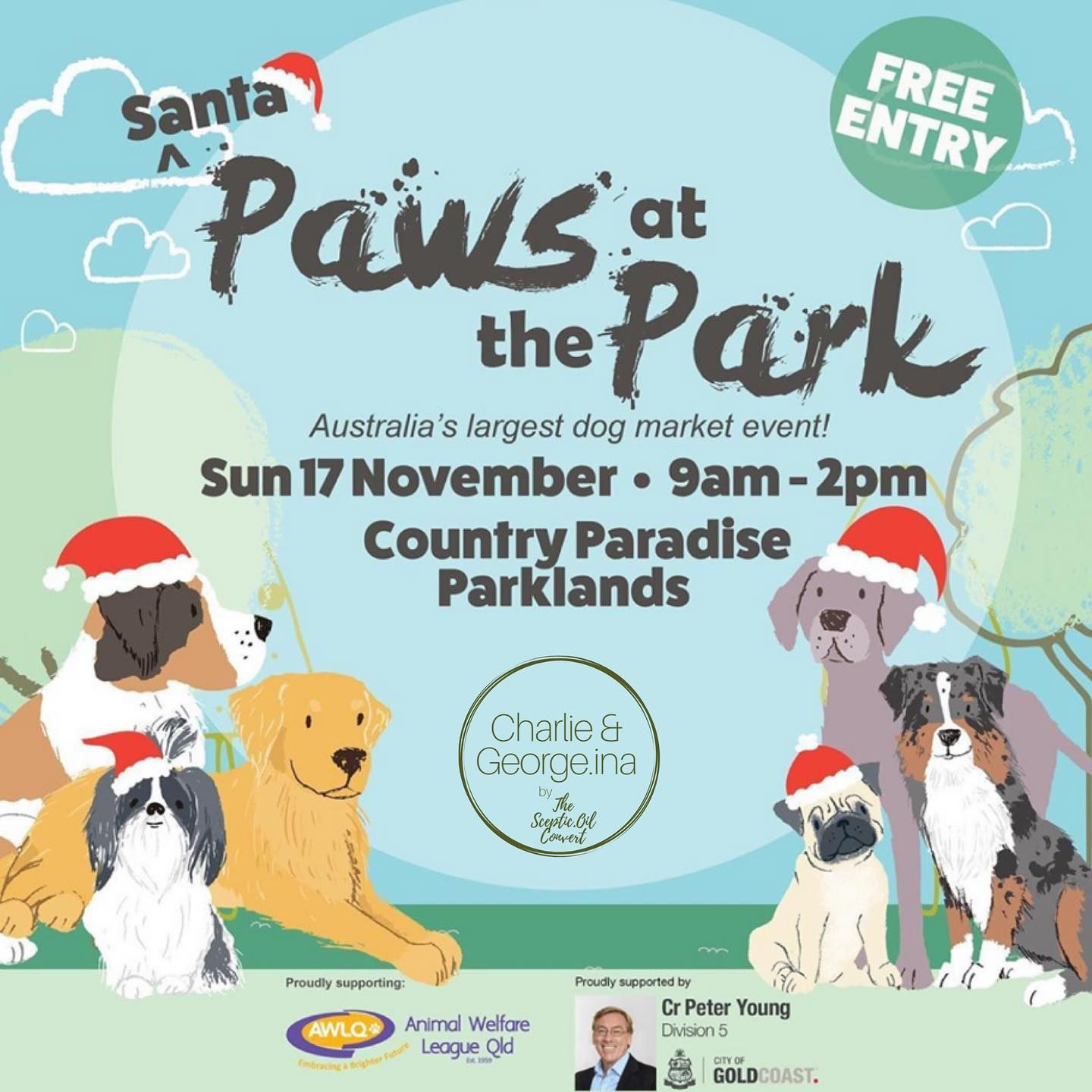 O N E W E E K To Go Can T Wait To See You All Pawsatthepark Next Sunday So Many Amazing Stalls Incl In 2020 Dog Marketing Animal Welfare League Santa Paws
