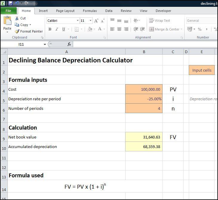Reducing Balance Depreciation Calculator Annuity Calculator Annuity Calculator