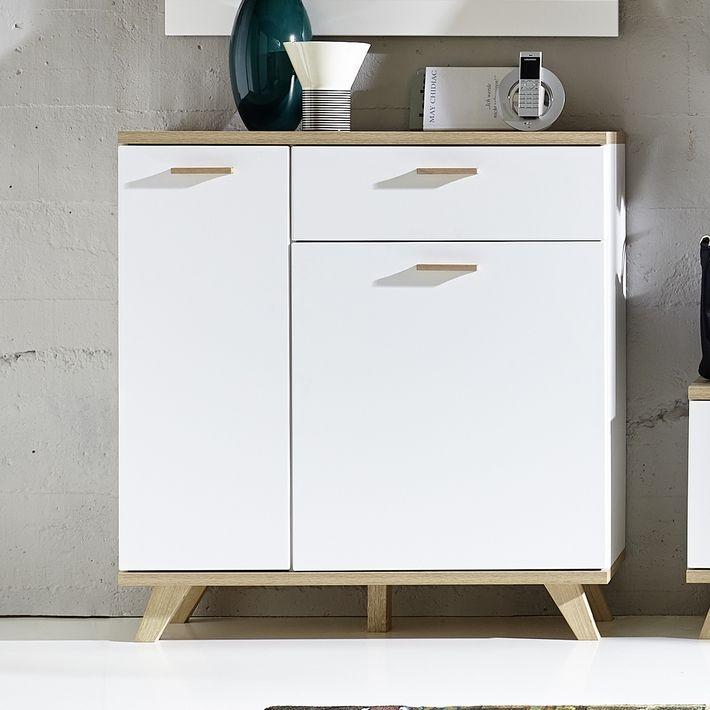 Meuble a chaussures scandinave Malmo Idées déco Pinterest - Meuble Tv Avec Rangement