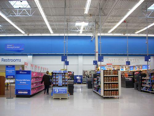 Walmart Interior Interior Retail Design Walmart
