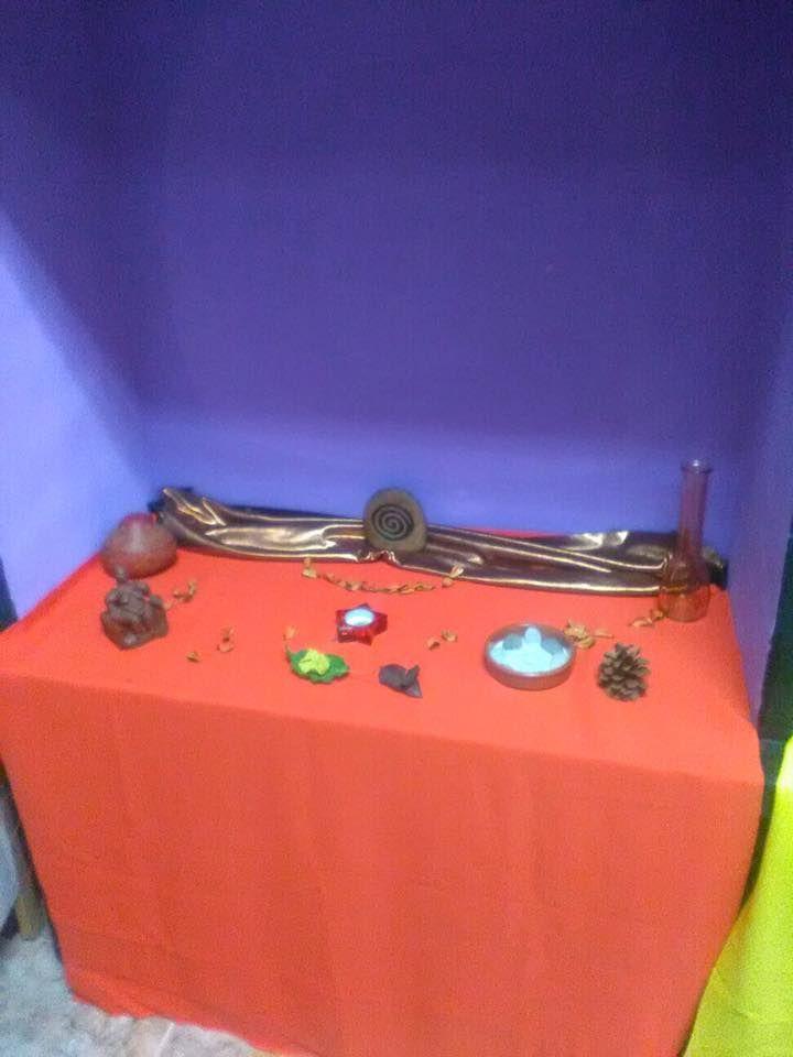 Mini-altar de Mabon Septiembre 2016